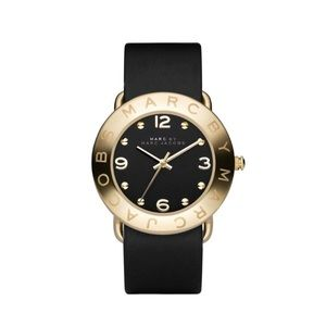 Marc Jacobs Amy Genuine Leather Watch